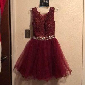 Women's size 8 cranberry dress